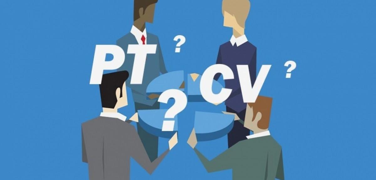 Apa perbedaan PT dengan CV